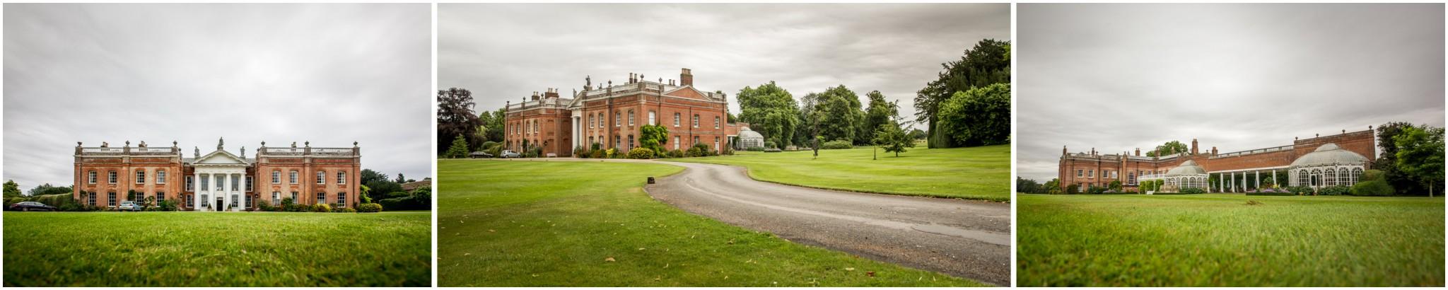 Avington Park Wedding Exterior Shots
