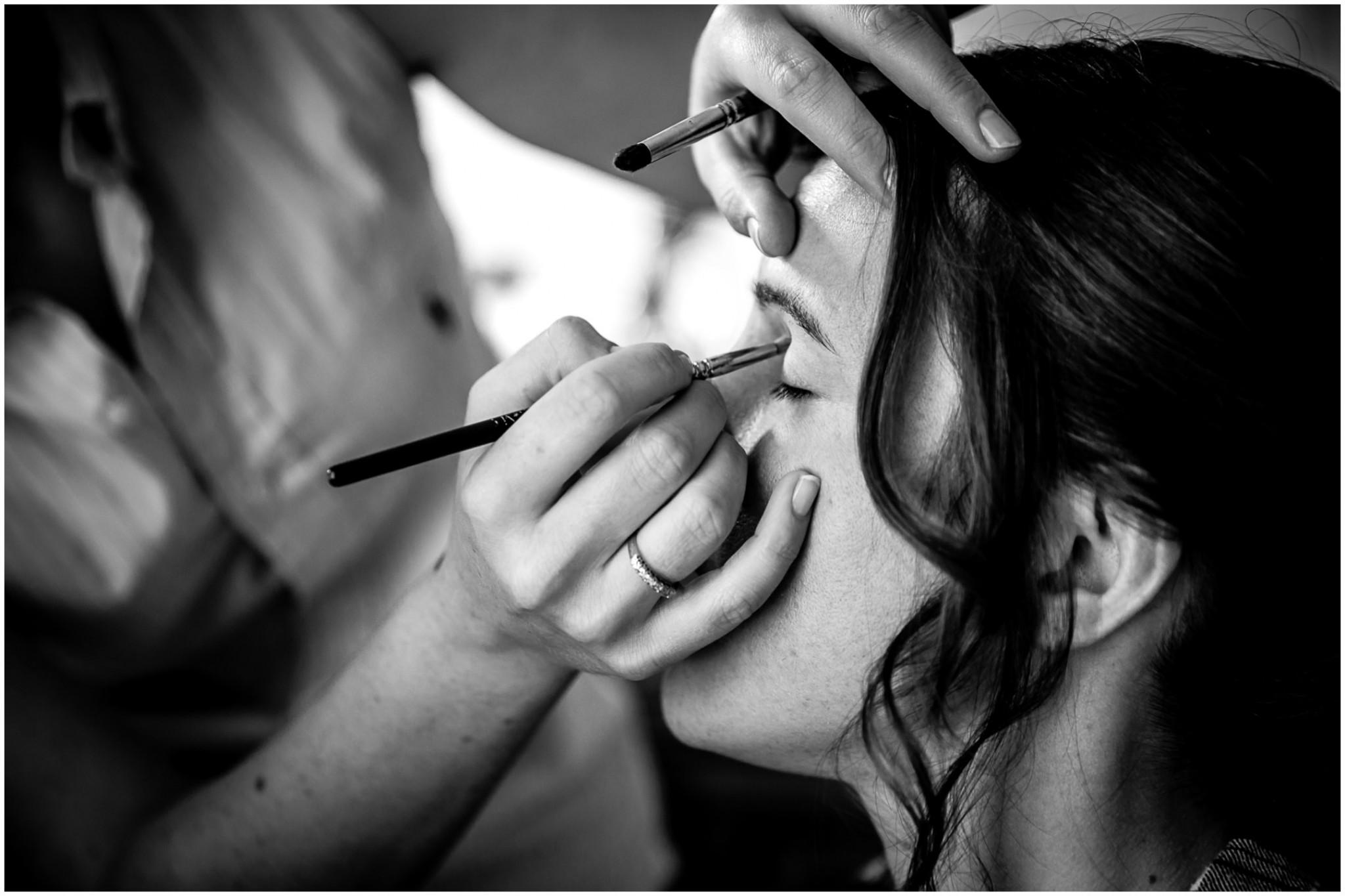 Avington Park Wedding Bridal makeup
