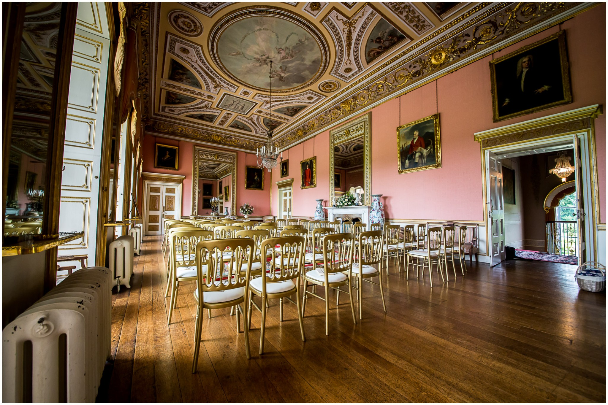 Avington Park Wedding Ceremony Room