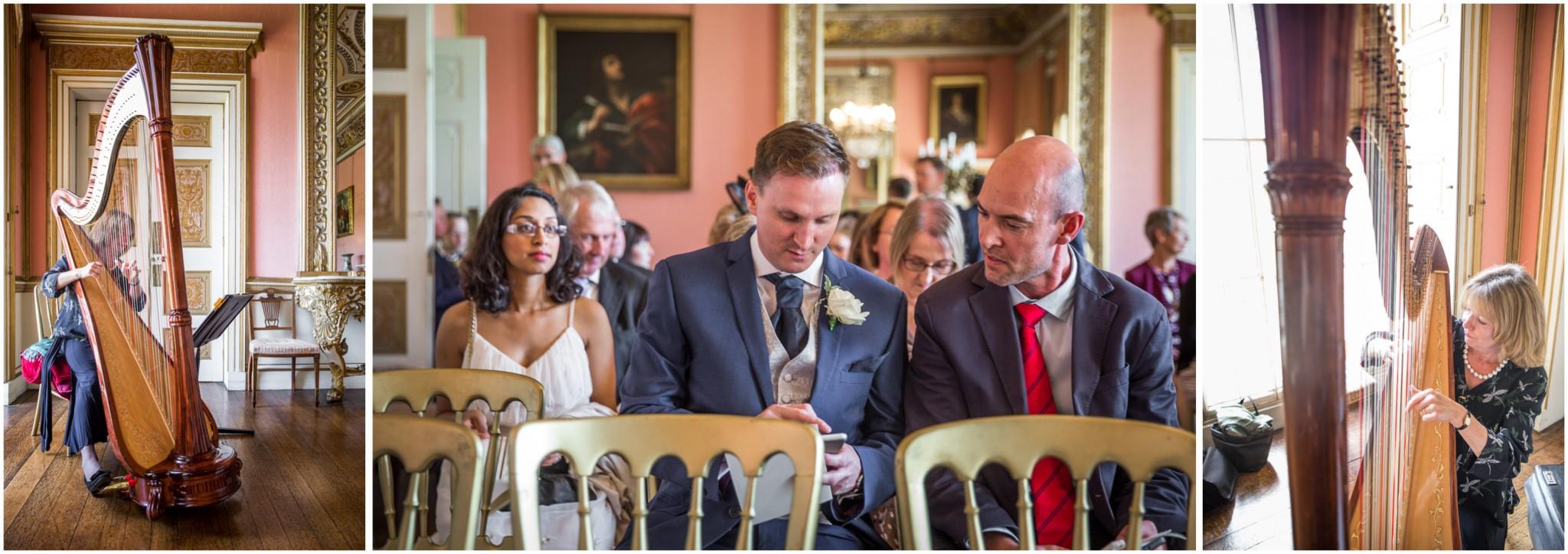 Avington Park Wedding Guests arriving