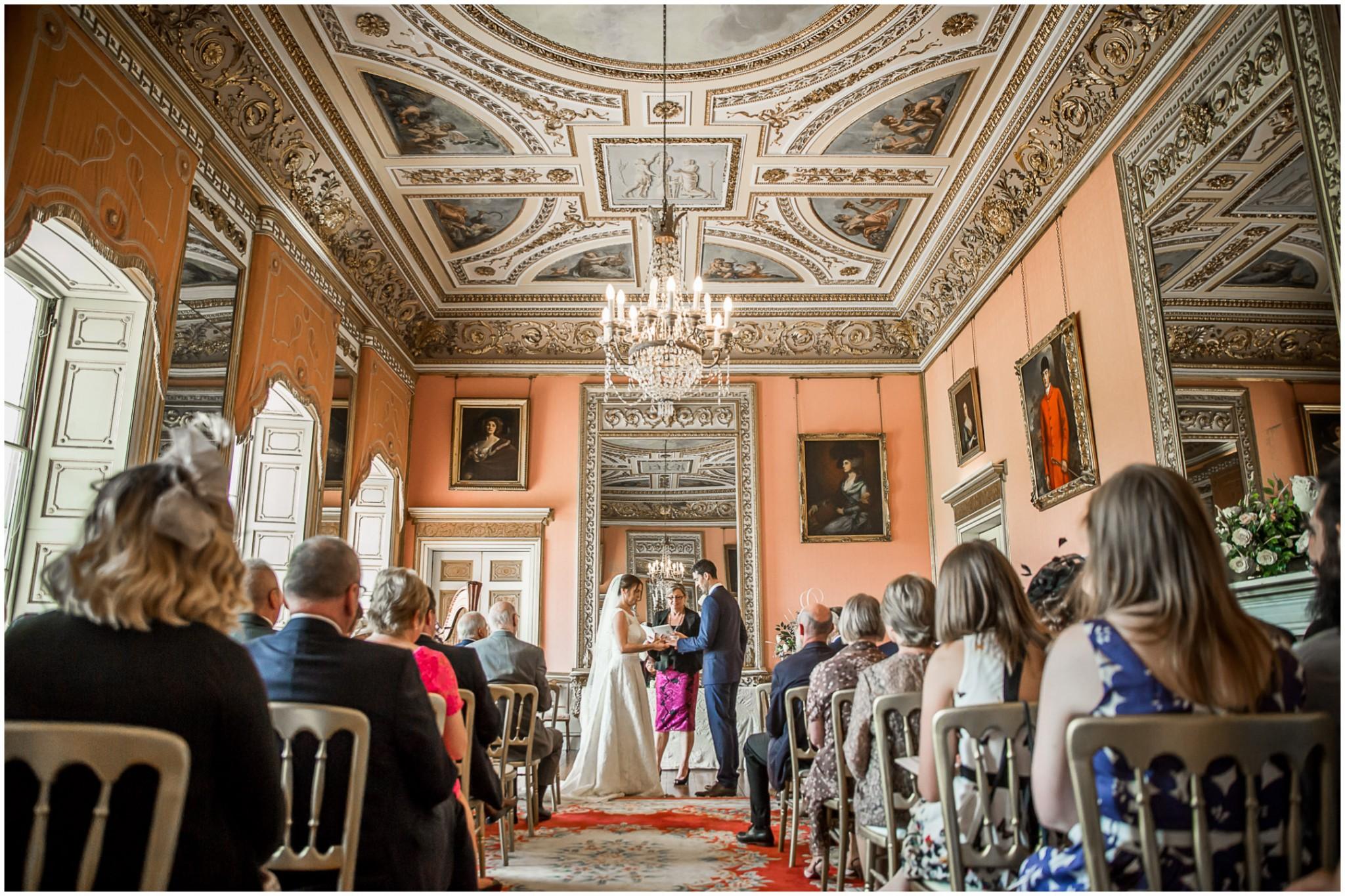 Avington Park Wedding Exchange of Rings