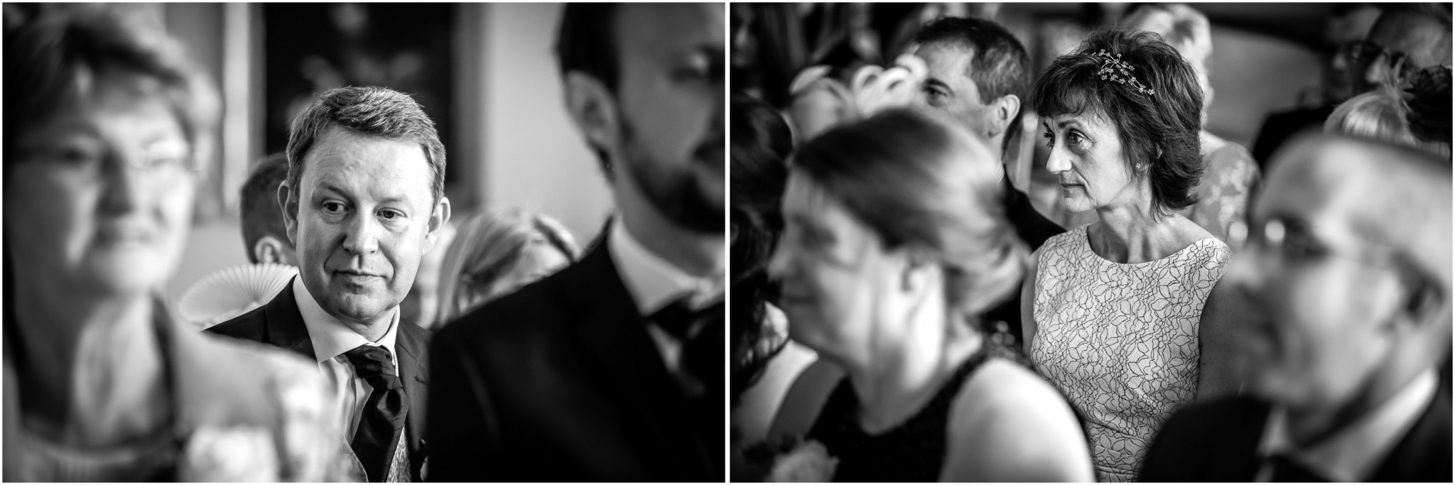 Avington Park Wedding Guests in ceremony