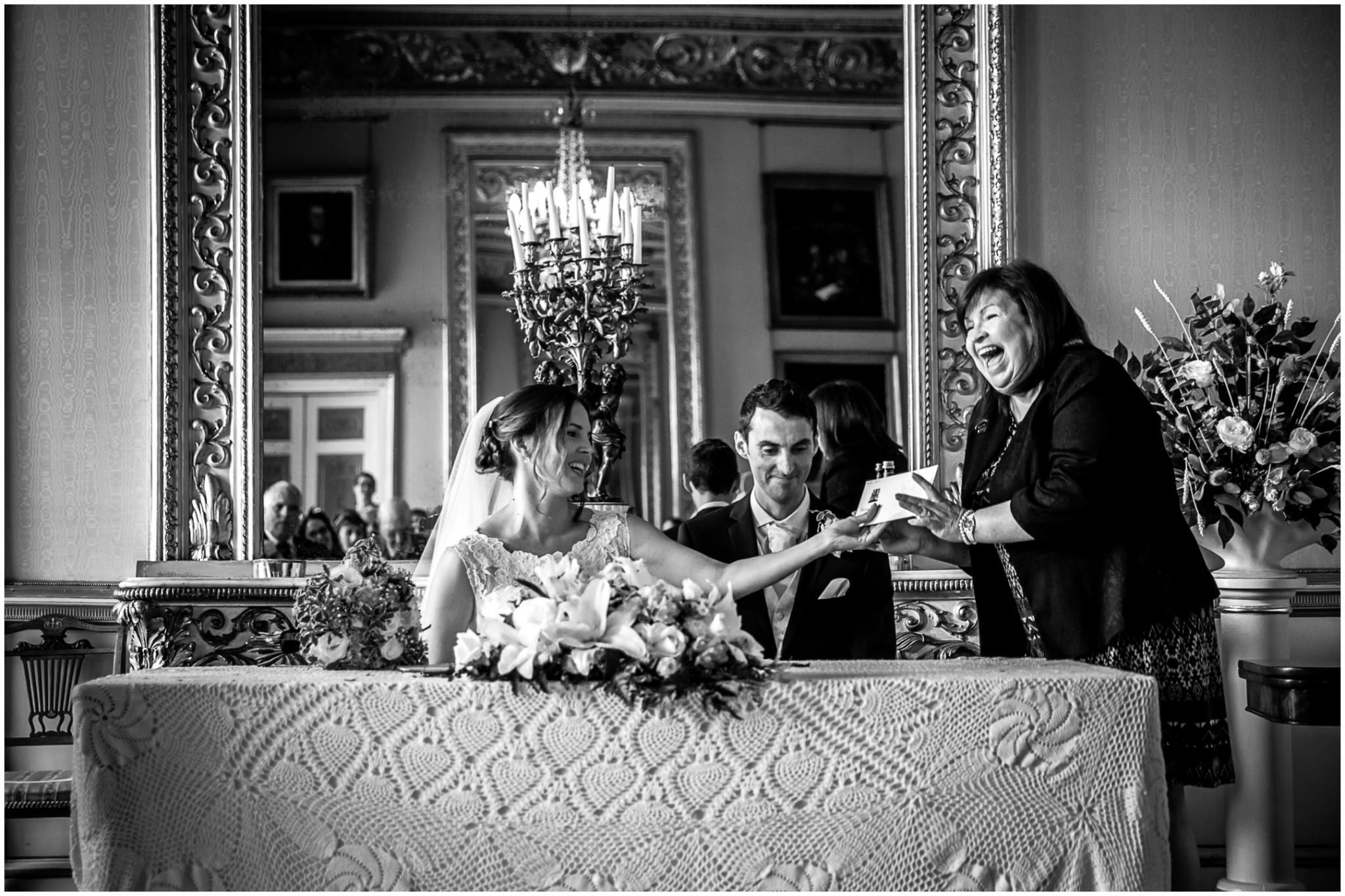 Avington Park Wedding Certificate
