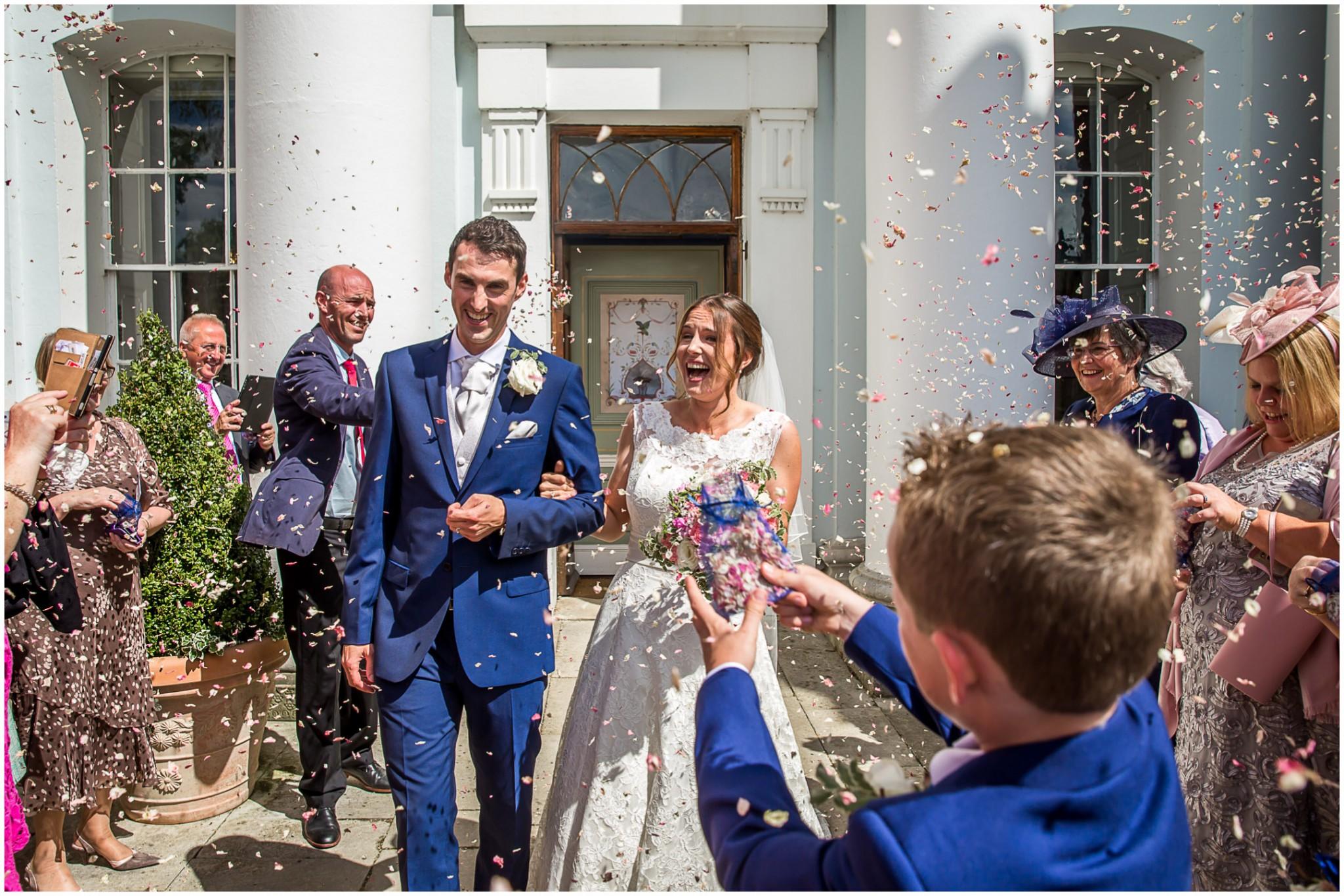 Avington Park Wedding Confetti