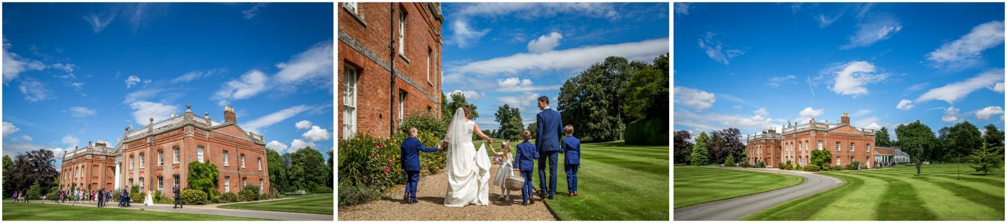 Avington Park Wedding In the gardens