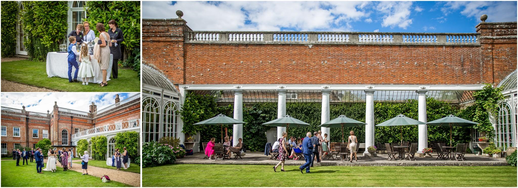 Avington Park Wedding Drinks Reception