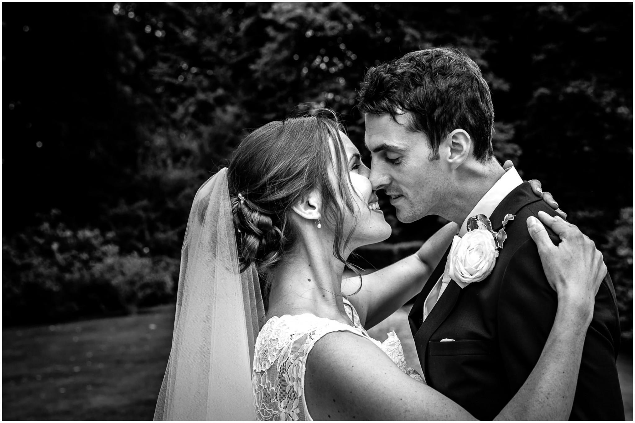 Avington Park Wedding Bride & Groom Portrait 002