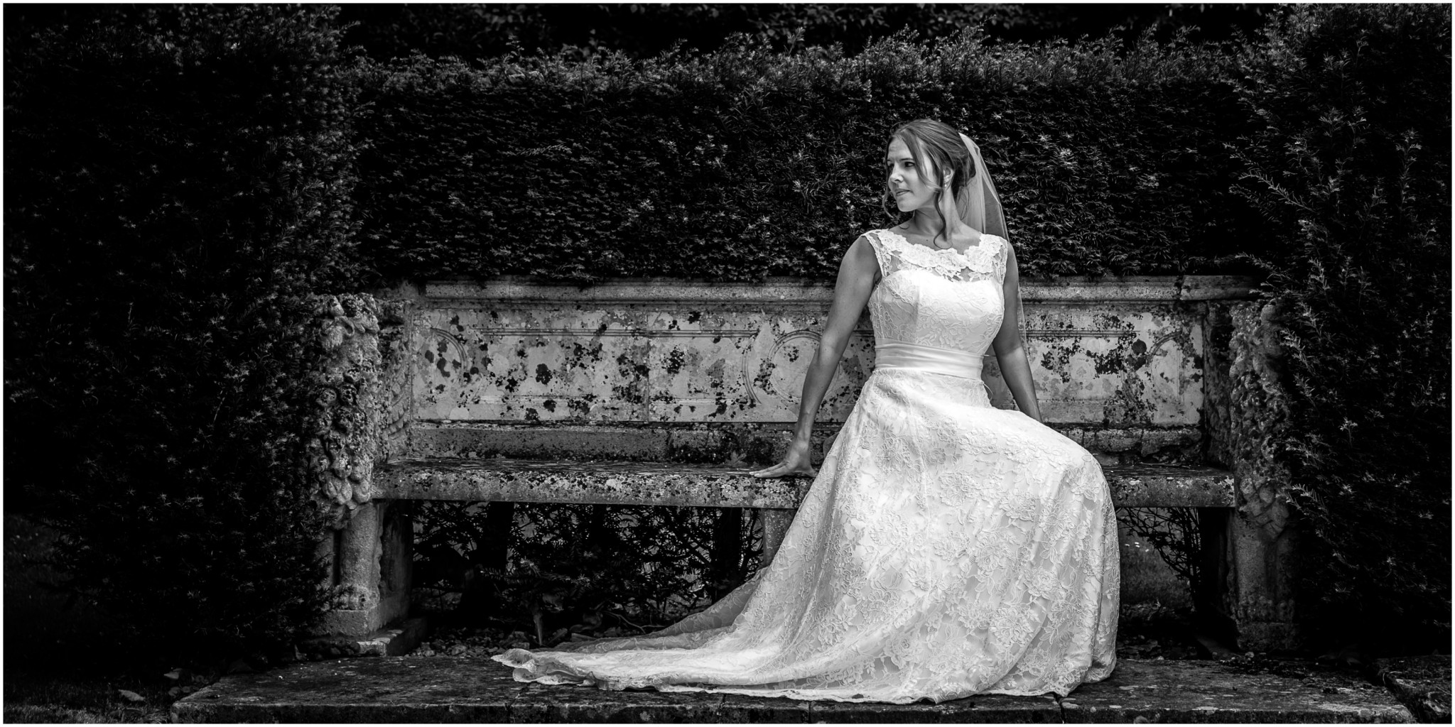 Avington Park Wedding Bride & Groom Portrait 003