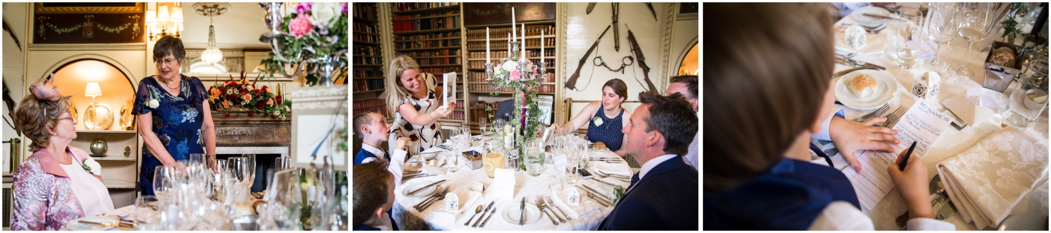 Avington Park Wedding Guests Before the Wedding Breakfast