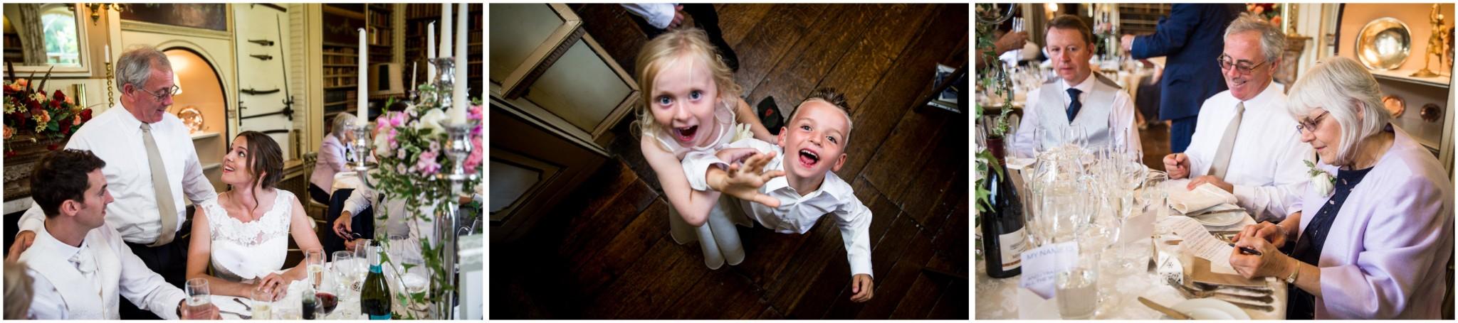 Avington Park Wedding Children Before the Wedding Breakfast