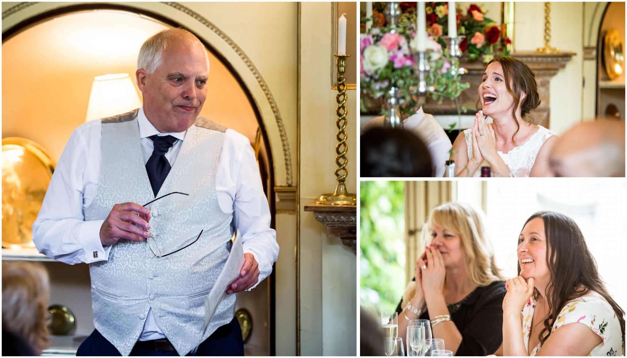 Avington Park Wedding Father of the Bride Speech