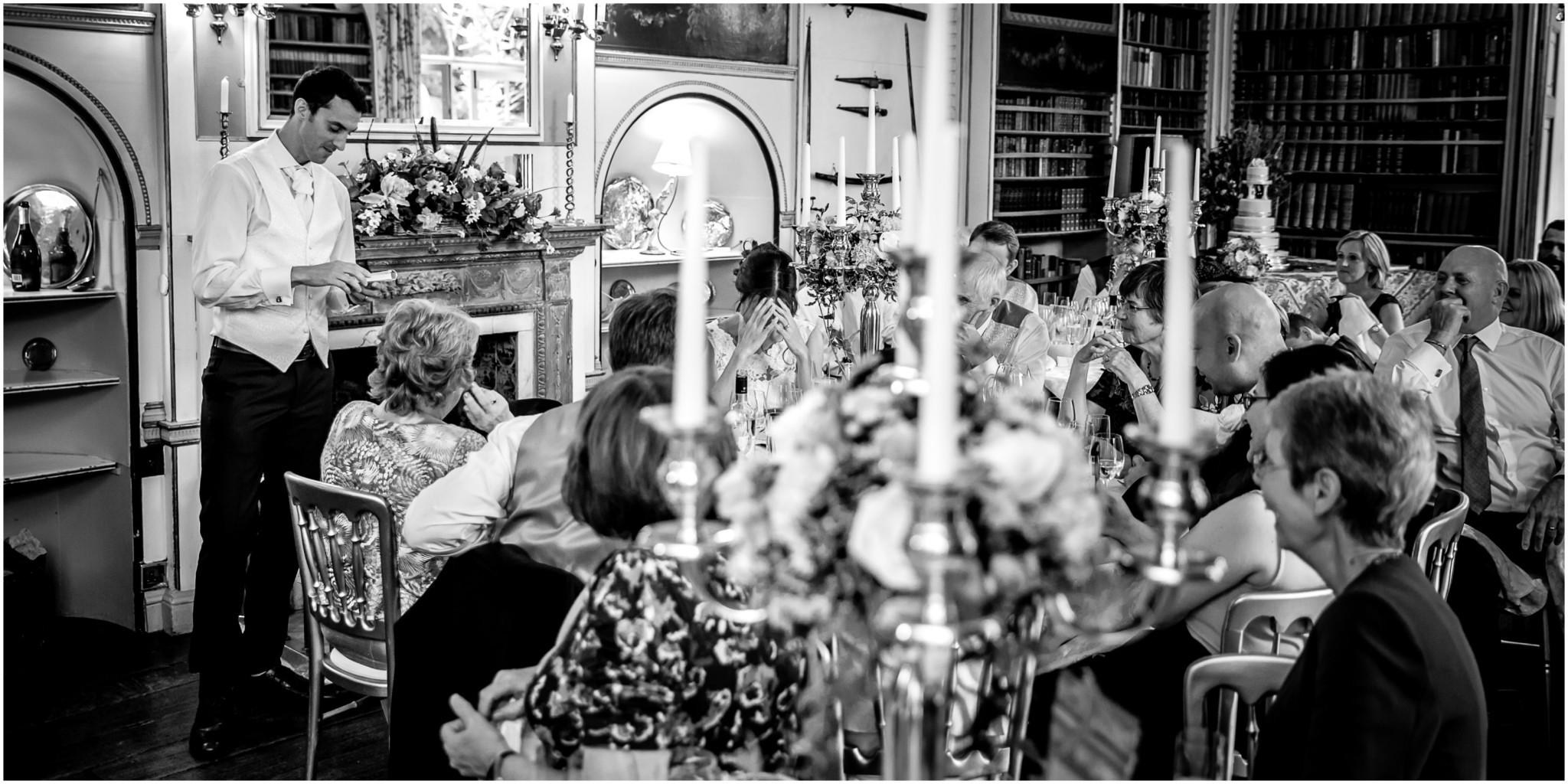 Avington Park Wedding Groom's Speech