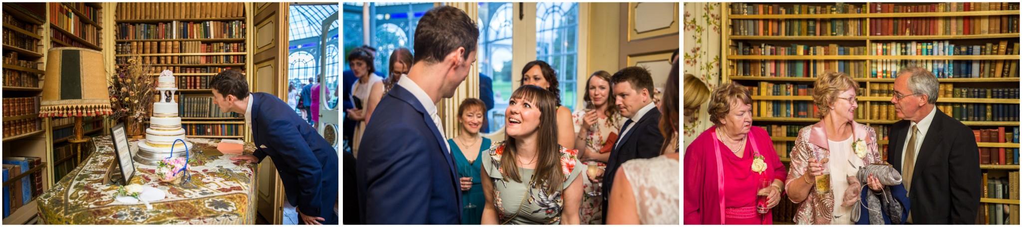 Avington Park Wedding Evening Reception Guests