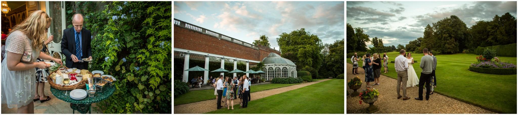 Avington Park Wedding Evening Reception Buffet